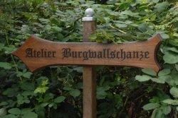 Burgwallschanze Blick von Ruhlebenerstraße